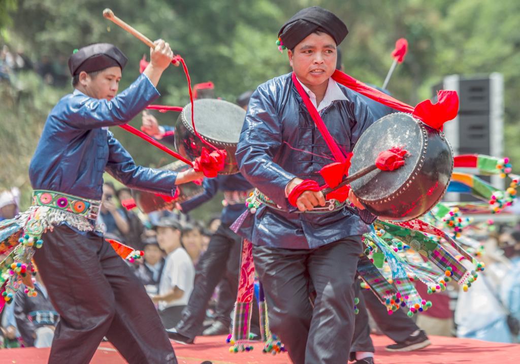 """5月3日至5日,广南县壮族三月""""花街节""""系列活动在者兔乡举行."""