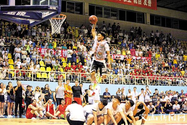 篮球的盛宴 球迷的狂欢