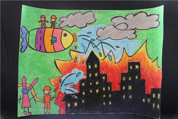 海市 我是小小消防员 首届儿童消防作文