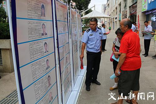 市法院联合开展案件执行宣传活动-云南文山州